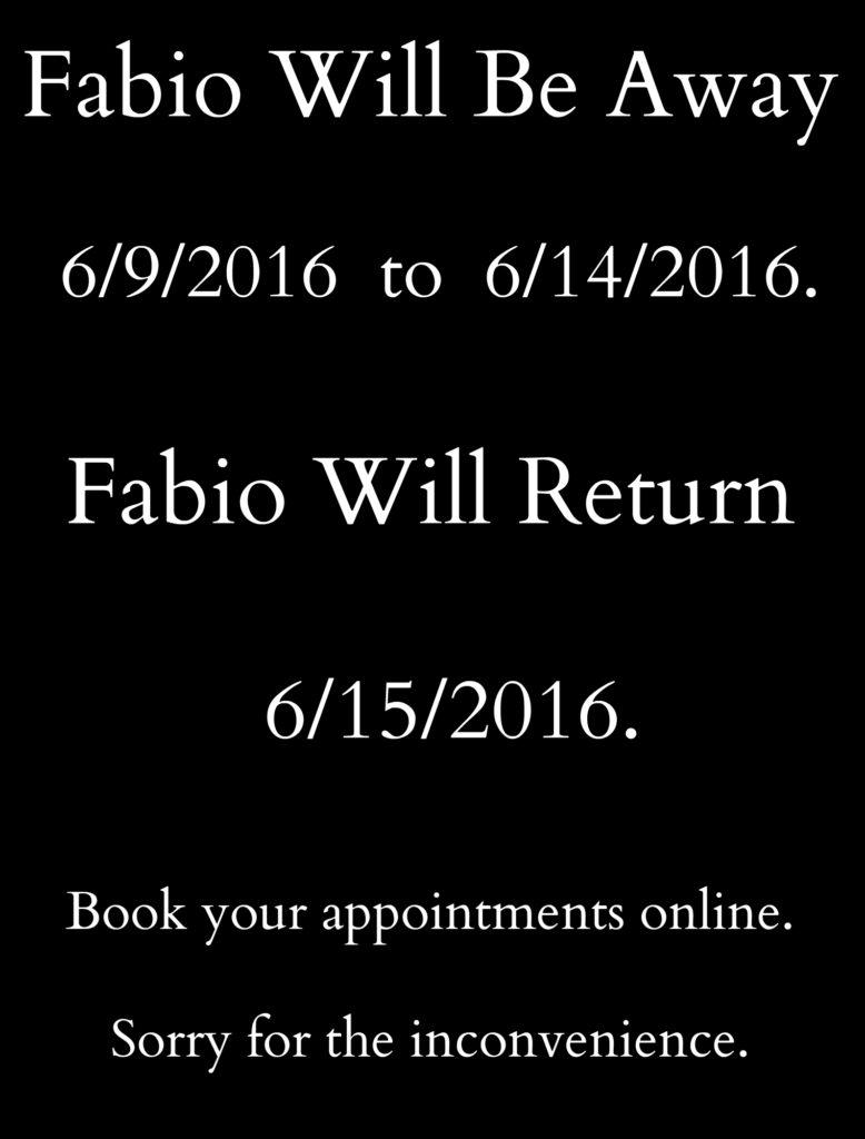 fabio away